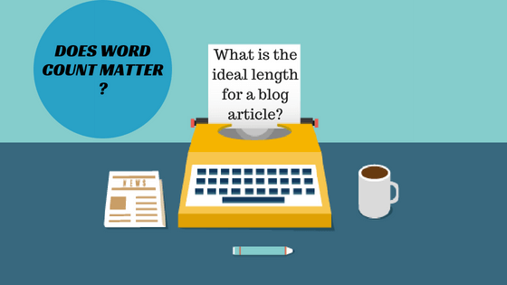 what is the ideal length of a blog article