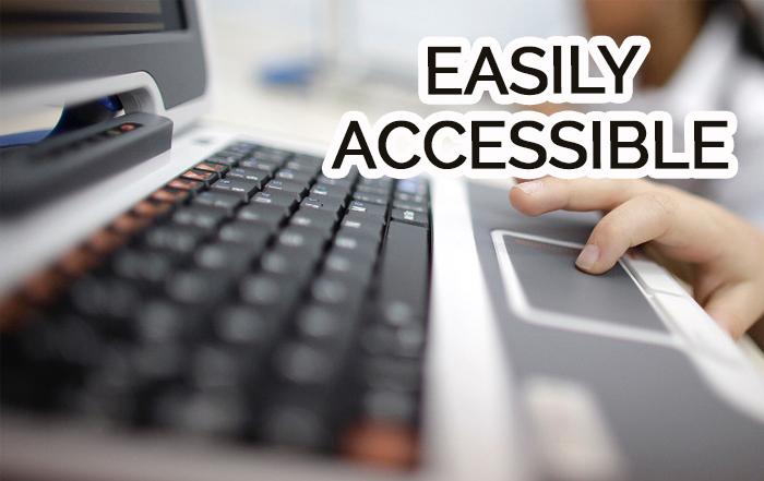 easily access
